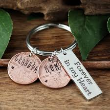 in memory of keychains personalized memorial keychain memorial keychain parents
