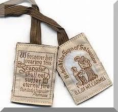 catholic gifts scapular brown scapular washable scapular catholic gifts