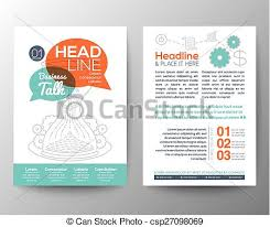 flyer graphic design layout brochure flyer design layout vector template with business clip