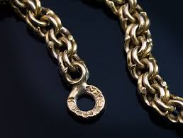 antique necklace chain images 23 inch antique russian gold chain necklace antique jewelry jpg