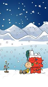 christmas surprise wallpapers snoopy and charlie brown christmas iphone wallpaper background