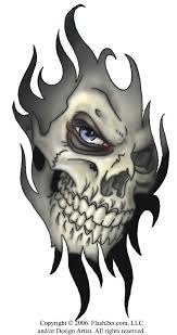 free skull designs com announces tribal tattoos as