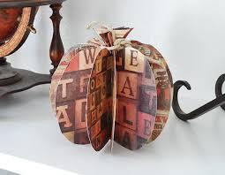 3d paper pumpkin crafts by amanda