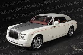 rolls royce white kyosho 1 18 rolls royce phantom drophead coupe white 08871ew