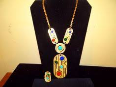 pauline rader necklace vintage pauline rader necklace necklaces