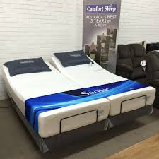 reverie adjustable bed 7s textured motionflex base with zenith