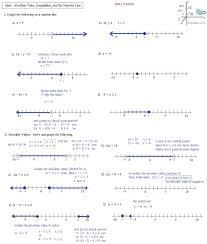 Radical Equations Worksheet Solving Absolute Value Equations Worksheet