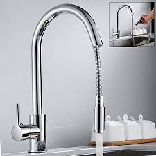 kitchen faucet chrome kitchen sink taps pull out sprayer kitchen faucet chrome
