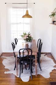 simple decorating a small dining room contemporary brown varnished