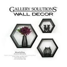 gallery 9 38 in w x 4 38 in d black wall cubes