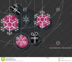christmas ornaments pink balls royalty free stock images image