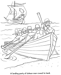 Pilgrim Thanksgiving History Pilgrims First Thanksgiving Coloring Page Pilgrims Used A