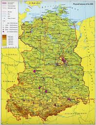Printable Map Of Germany by East Germany Map U2013 World Map Weltkarte Peta Dunia Mapa Del