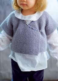 patron veste kimono un gilet kimono en tricot pour enfant marie claire