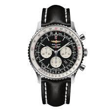 bracelet homme montre images Montre breitling navitimer 01 46 mm bracelet cuir pour homme jpg