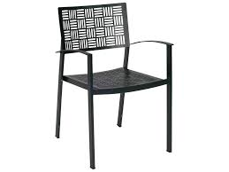 Woodard Patio Furniture Cushions - woodard new century wrought iron dining arm chair stacking 930017