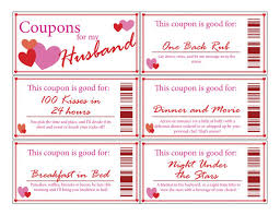 12 best images of coupon templates printable for husband