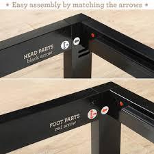 Metal Bed Frame No Boxspring Needed Zinus Modern Studio Platform 2000 Metal Bed Frame Mattress