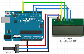how to connect a lcd screen to arduino clover m235 electronics