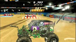 monster truck jam videos monster jam pc gameplay youtube
