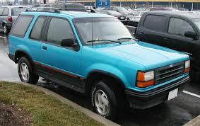 Ford Explorer 1991 - file 1st ford explorer sport jpg wikimedia commons