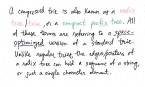 pattern matching algorithm in data structure using c compressing radix trees without too many tears basecs medium