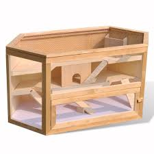 Pet Hutch Hamster Cage Wooden Hut Mouse Pet Hutch Hexagon Garden And Outdoor