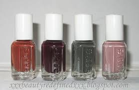 beautyredefined by pang essie fall collection nail polish with