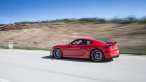 porsche cayman 2015 gt4 onto the racetrack with the cayman gt4