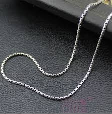 cheap silver necklace chains images New women and men chain necklaces styles wishbop trendy fashion jpg