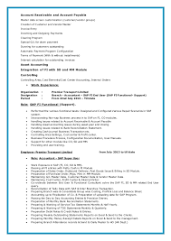 Reference Page On Resume Sap Fico Resumes Eliolera Com