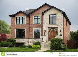 brick house stock photos image 19955693