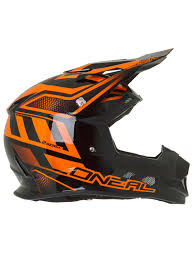 motocross helmet with visor oneal black orange 2018 2series manalishi mx helmet oneal