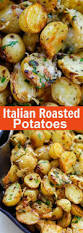 italian roasted potatoes recipe oven roasted potatoes italian