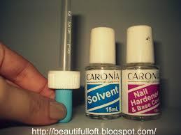 mitch wears clothes review caronia nail hardener u0026 base coat
