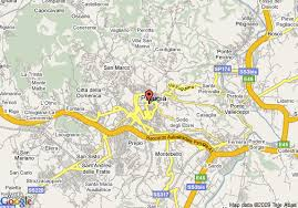 map of perugia perugia map