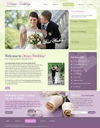 wedding planner website wedding website templates