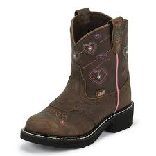 justin light up boots justin gypsy light up barnwood brown buffalo boot