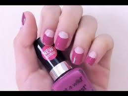 diy half moon nail design natalie s creations