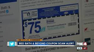 Bed Barh And Beyond Coupons Fake Coupon For Bed Bath And Beyond Circulating On Facebook Fox