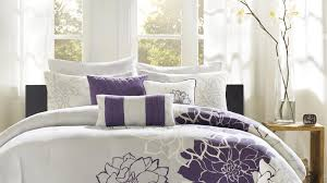 Contemporary Bedding Sets Splendid Design Of The Modern Bedding Sets With White Bed Cover