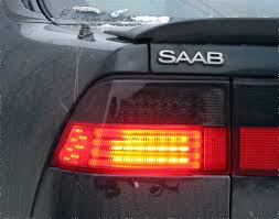 custom car tail lights saab 9000 custom led tail lights from boostcustoms