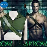 Green Arrow Halloween Costume Cheap Green Arrow Cosplay Free Shipping Green Arrow Cosplay