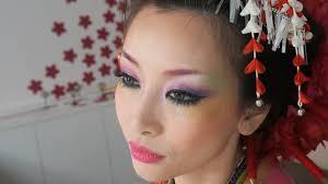 best halloween makeup to use カラフル花魁メイク coloful geisha look makeup u0026 hair tutorial
