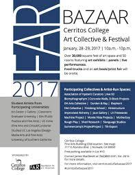 Cerritos College Map Far Bazaar 2017 Art Collective U0026 Festival Bazaar Marjan Vayghan