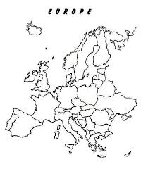 blank map of europe blank outline political map of europe printable editable blank