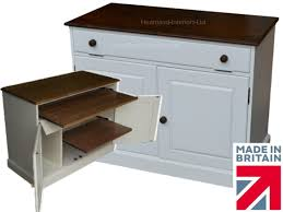 Hidden Home Office Desk by 100 Solid Wood Desk White Painted U0026 Waxed Drop Down Hidden Home