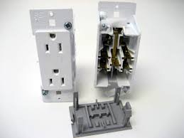 Home Decorators Supply Wdr15wt White Decorator Self Contained Outlet With Plate Mobile