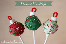 ornament cake pops create celebrate
