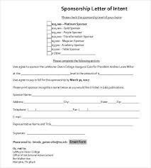 corporate sponsorship letter family and friends sponsorship